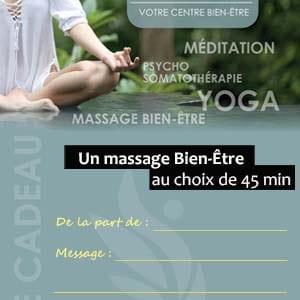 carte cadeau massage 45mn montpellier